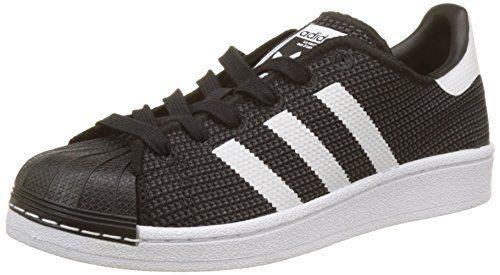adidas Superstar J, Chaussures de sport mixte enfant: Inspirée de l'iconique chaussure de basketball des années 70, la Superstar Foundation…