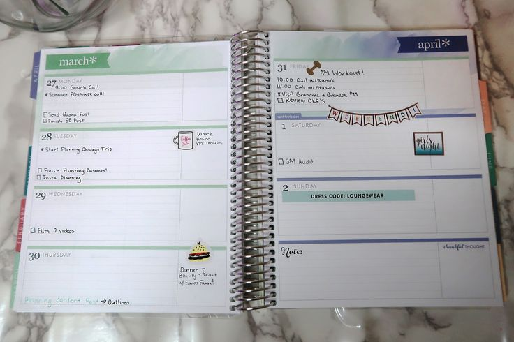 Life post college is even more stressful believe it or not so you have to take extra measures to stay on top of things. Here is how I use my Erin Condren planner to keep my head on straight! #ad