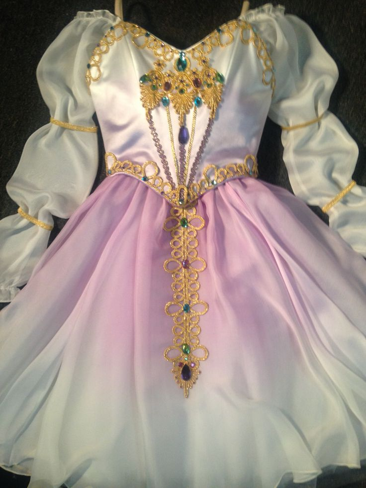 """Pas de Trois"" from ""Swan Lake"" Dress ~ by Heather Lerma"
