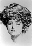 Gibson Girl Hair: A Tutorial