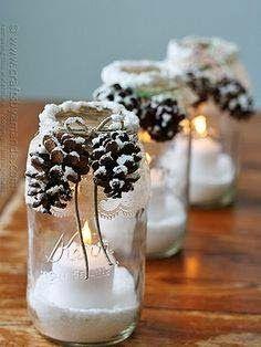 Przytulny Dom: Świąteczne dekoracje za grosik i kurs wykonania lampionu