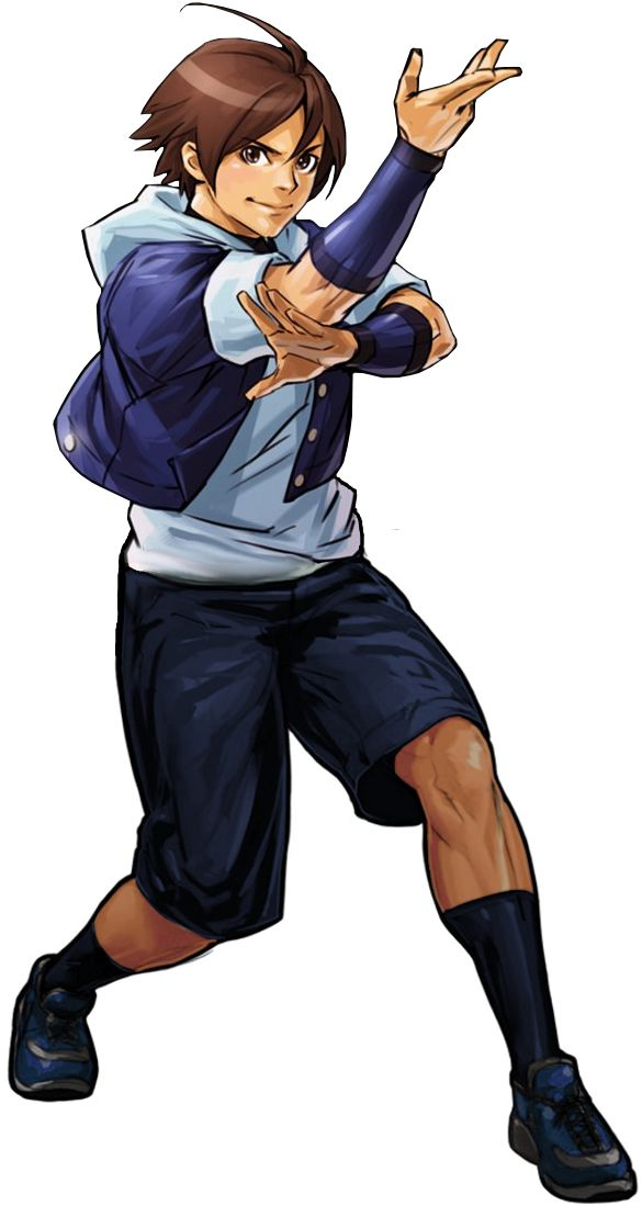 Kensou ex 2002 um render by topdog4815 character design king of fighters character design e - King of fighters characters pictures ...
