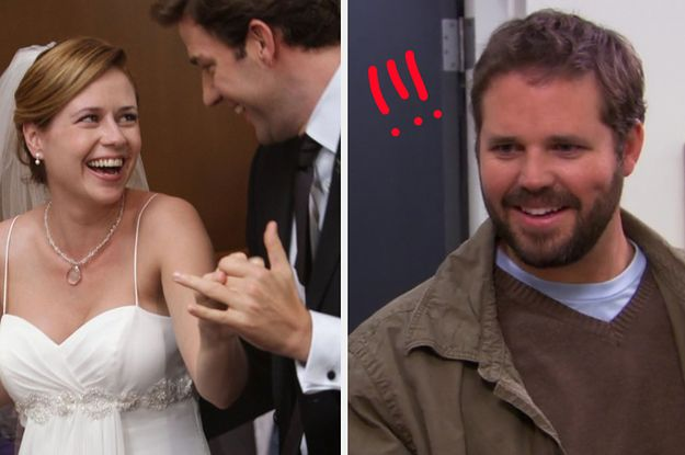 Jim And Pam S Wedding On The Office Almost Had A Different Ending Involving Roy And A Horse Jim And Pam Wedding Niagara Falls Wedding Surprise Wedding