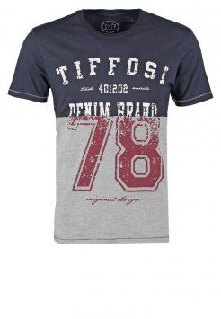 Tiffosi - EUSEBIO - Camiseta print - blue