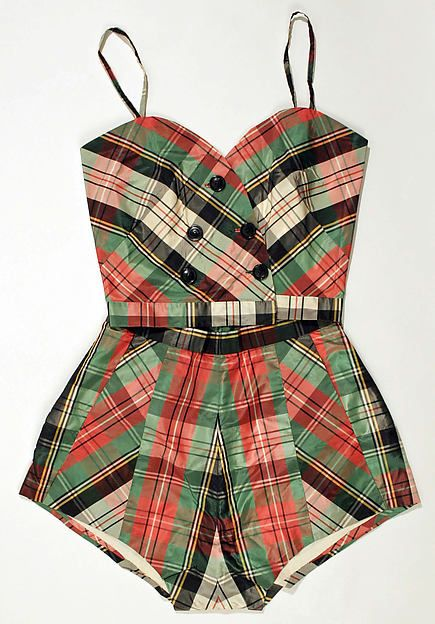 Playsuit C. Goldstein 1950s