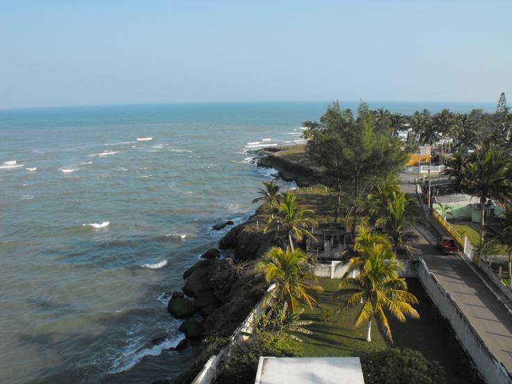 Malecón de Cazones de Herrera Playas #veracruz #pozarica #turismo Fuente: Google