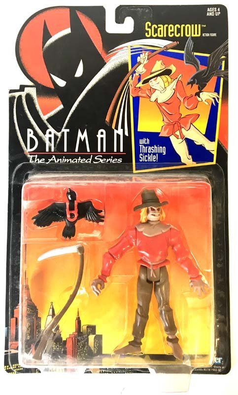 Batman: The Animated Series – Scarecrow  Kenner  Batman, Batman: The Animated Series www.detoyboys.nl