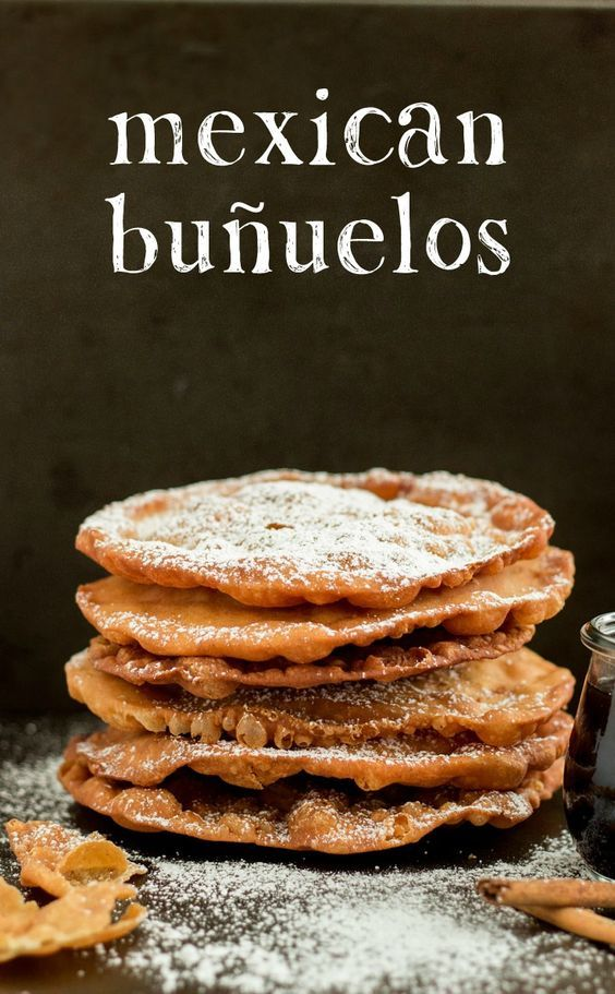 These Mexican Buñuelos are a traditional holiday dish! They're sweet and crispy…