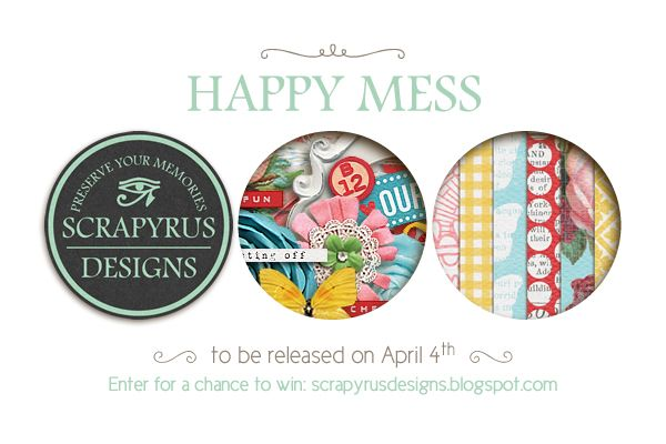Scrapyrus Designs is coming back !! You can win this upcoming new release on the blog scrapyrusdesigns.blogspot.com