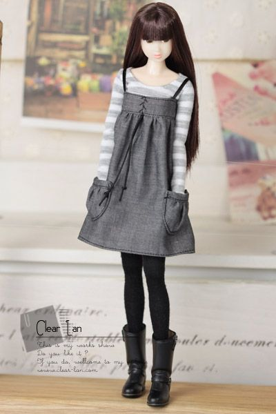 Clear lan | dresses for doll | Momoko clothes