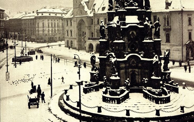 (Foto R. Smahel, 1960) — v Olomouc, Czech Republic.