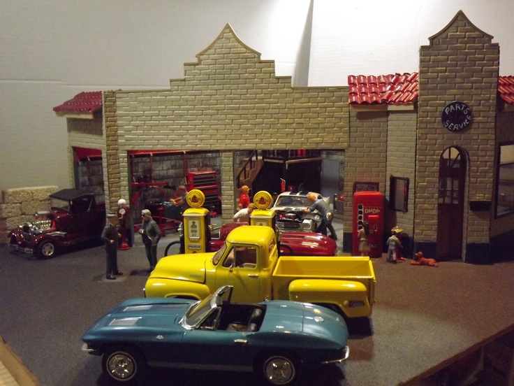 31 best images about scale garage on pinterest models semi trucks and 25th anniversary. Black Bedroom Furniture Sets. Home Design Ideas
