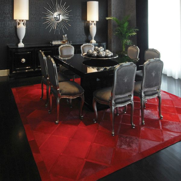 Red And Black Dining Room Ideas: Delicious Dining Rooms