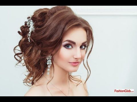 Latest Pakistani Eid Hairstyle Step By Step For Girls And Women 2017 Party Hairstyles Hair Styles Engagement Hairstyles