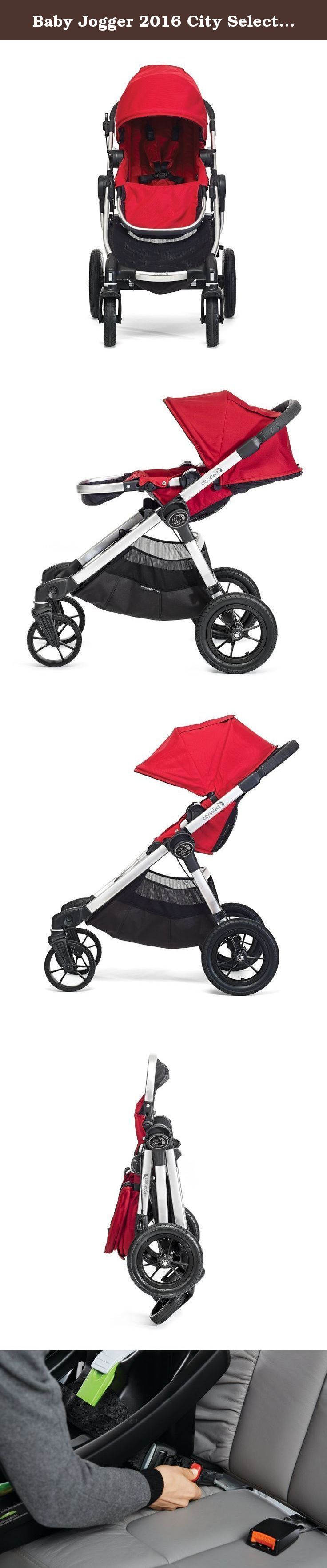 Baby Jogger 2016 City Select Travel System, Ruby/Steel