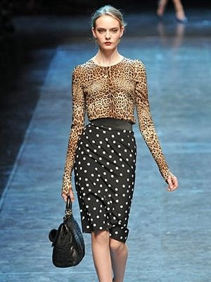 Eclectic Style eclectic /mix print fashion