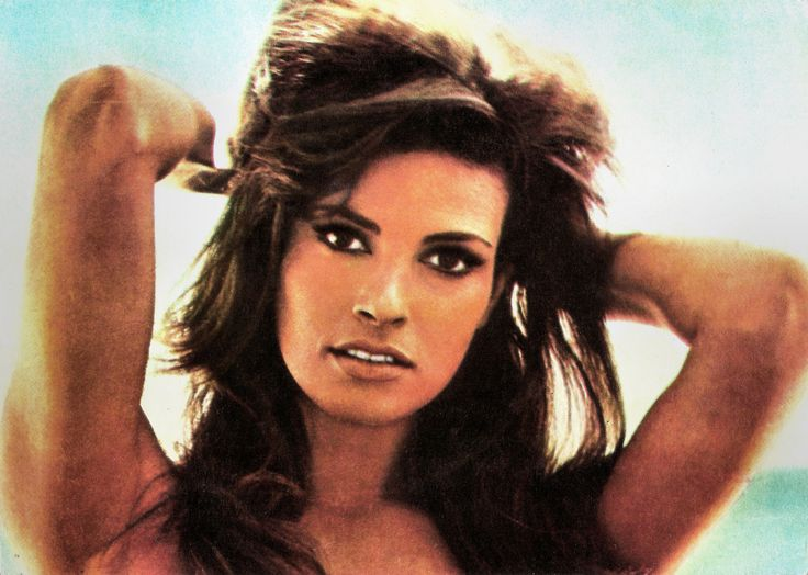 https://flic.kr/p/SSviuC | Raquel Welch | Romanian postcard by Casa Filmului Acin.   American actress Raquel Welch (1940) is one of the icons of the 1960s and 1970s.  She first won attention for her role in Fantastic Voyage (1966). In Great Britain, she then made One Million Years B.C. (1966). Although she had only three lines in the film, a poster of Welch in a furry prehistoric bikini became an amazing bestseller and catapulted her to stardom.