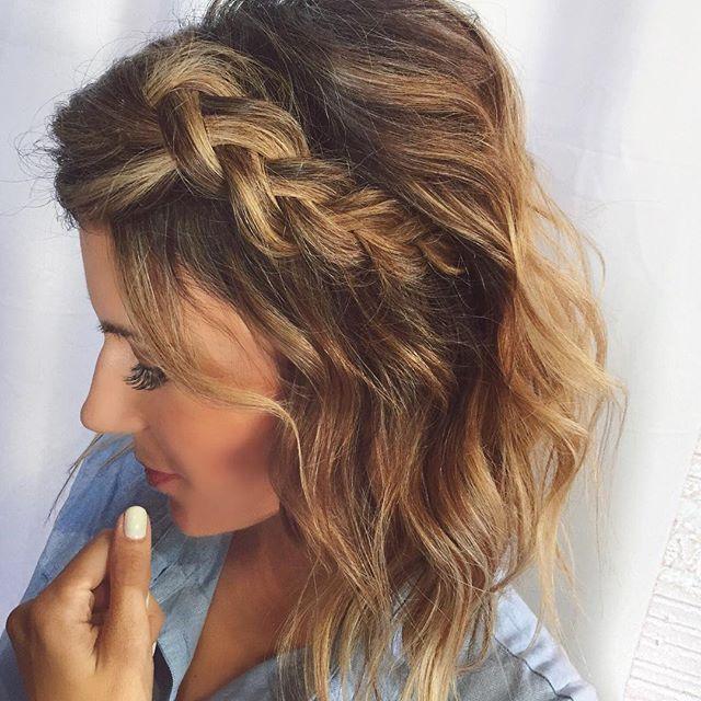 """Hair vibes ❤️ #dutchbraid"" Photo taken by @hellofashionblog on Instagram, pinned via the InstaPin iOS App! http://www.instapinapp.com (07/31/2015)"
