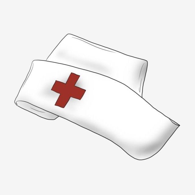 Hand Painted Medical Hospital Nurse Cap Png And Psd Hospital Nurse Nursing Cap Care Hospital