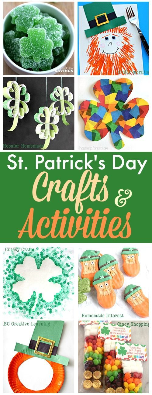 30 St. Patrick's Day Crafts and Activities for Kids