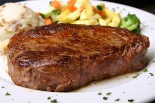 calories steak