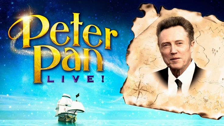 """Chatter Busy: Christopher Walken To Play Captain Hook In NBC's Live """"Peter Pan"""" Musical Special"""