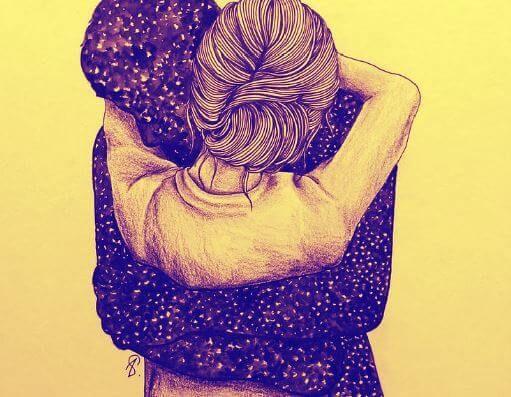 Hay abrazos que te rescatan de un naufragio, recomponen tus partes rotas, rompen todos los miedos y crean una obra de arte con los pedazos de tu corazón.