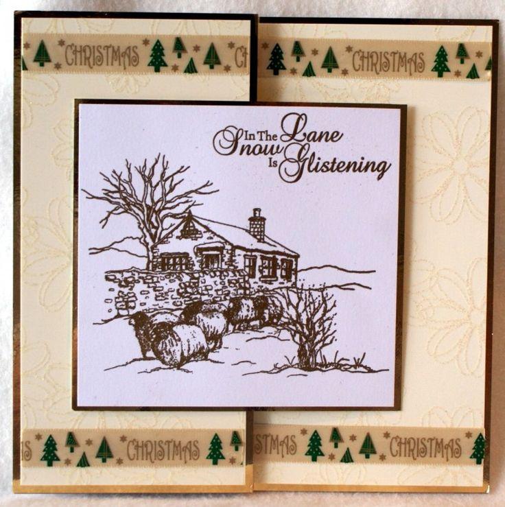 Sheena Douglass – Crafts, Papercrafting, Stamps, Create & Craft » Winter Sketchies