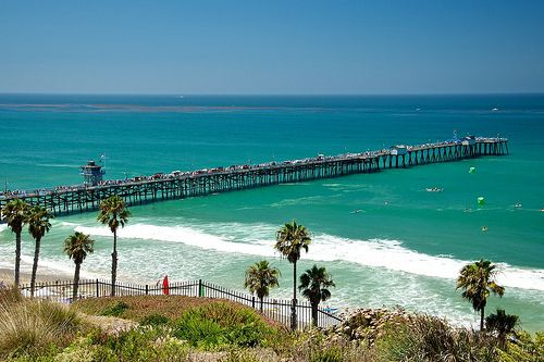 San Clemente, California, USA..  Great pier and then eat at the pier restaurants.