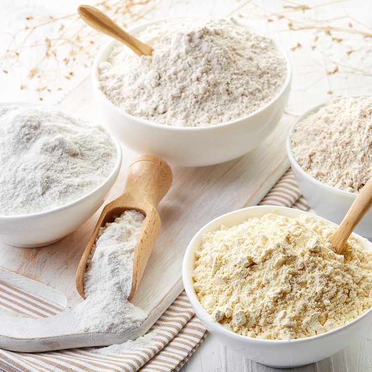 Prepare these gluten-free flours to replace cake flour or self-raising flour in your favourite recipes!