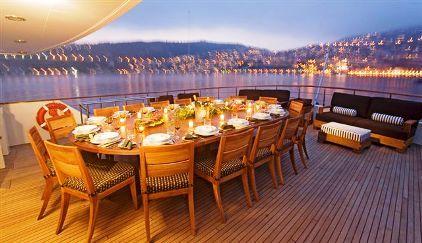 Spend a week on a luxury yacht in the Mediterranean Sea