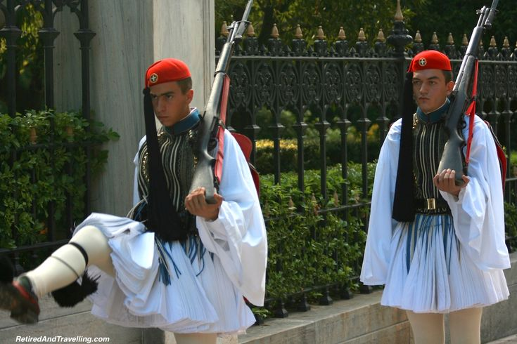 Don't miss the pageantry of the changing of the guards in Athens!