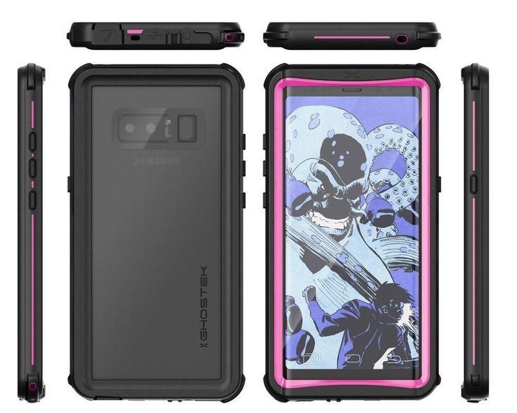 Ghostek Shockproof Case for Samsung Galaxy Note 8 Cover Waterproof Nautical Series
