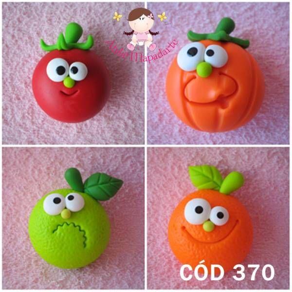 bonecas de biscuit fruta - Pesquisa Google