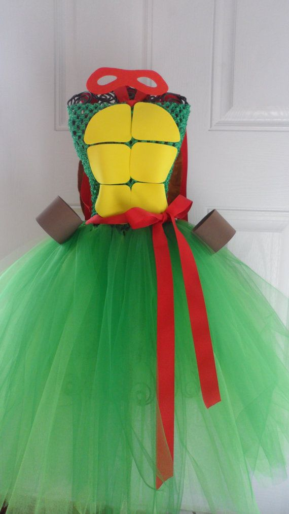 Ninja Turtle Tutu Dress by AddiBabyBoutique on Etsy