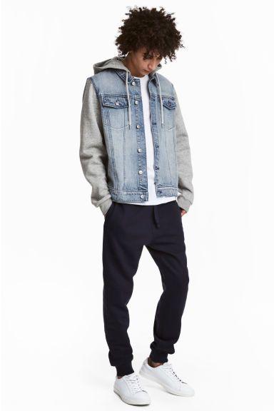 Spodnie dresowe - Ciemnoniebieski -   H&M PL 1