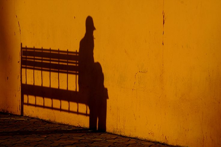 Marrakech: Shadow on the wall