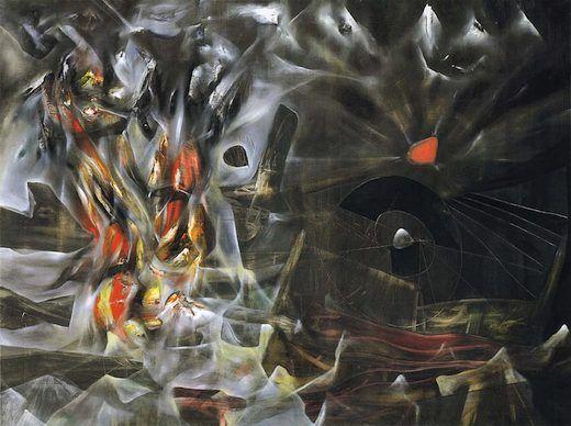 Les désastres du mysticisme, par Roberto Matta