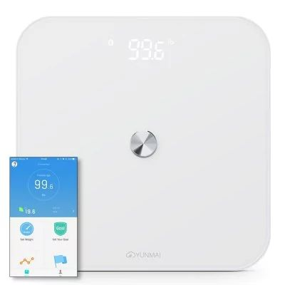 Yunmai SE  - $28.99 (coupon: YMAISE) Smart Digital Body Weight Scale WHITE   #YUNMAI, #Smart, #Weight, #gearbest, #Scale, #весы, #напольные   7291