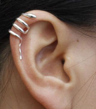 snake ear cuff - I have it, but am too afraid of losing it to wear it often! How do you secure it?