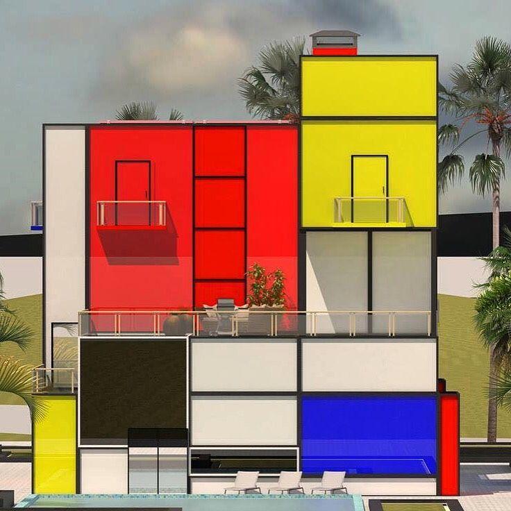 Mondrian House © Vasily Klyukin