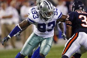 Anthony Spencer is one of five Dallas Cowboys free agents that should be let go this off-season.