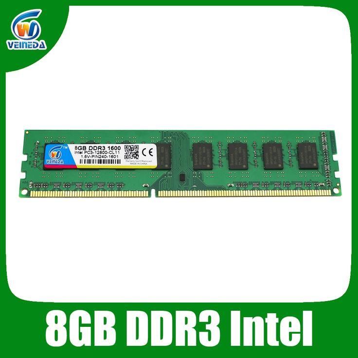 New ram ddr3 32gb 4X8gb memoria ram ddr3 For all Intel AMD Desktop PC3-12800 ddr3 1600 240pin Lifetime Warranty