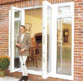 17 best images about french doors on pinterest set of for Front door with opening window