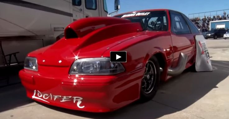 "Nitrous Fox Body Mustang ""Lucifer"""