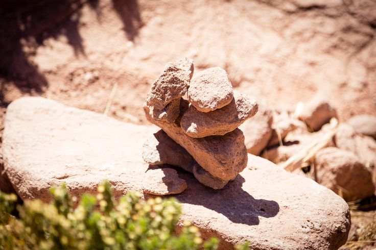 Hitos de Machuca, pueblito habitado por 7 personas a 4.100 m.s.n.m.