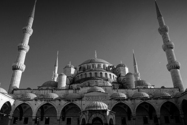The Blue mosque is the largest in Turkey