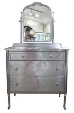 Metallic Paint On Wood Furniture