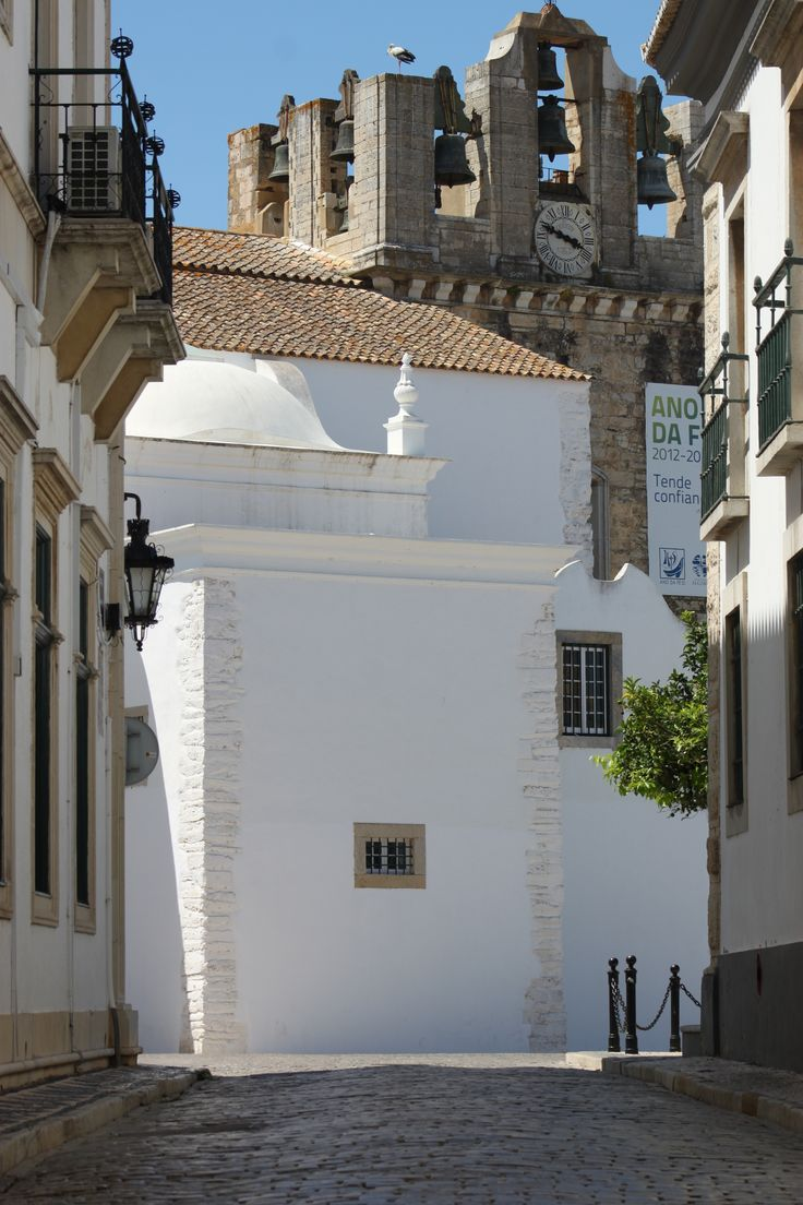 old city of Faro, Portugal