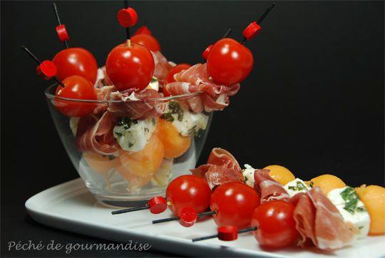 25 best ideas about mini brochettes ap ritives on pinterest mini brochette ap ro mini - Brochettes aperitives sans cuisson ...